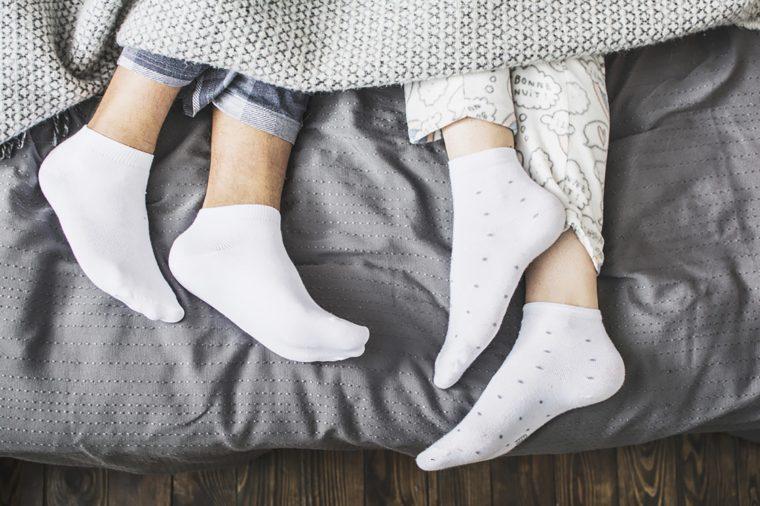 Is It Okay to Wear Socks While Sleeping