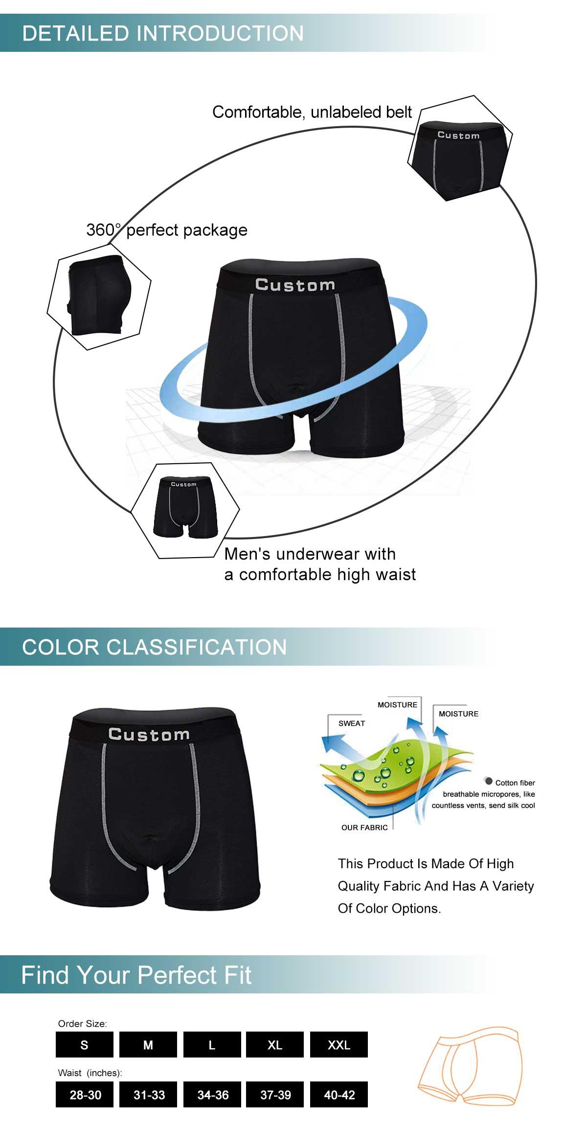 Men's Boxer Shorts Underwear