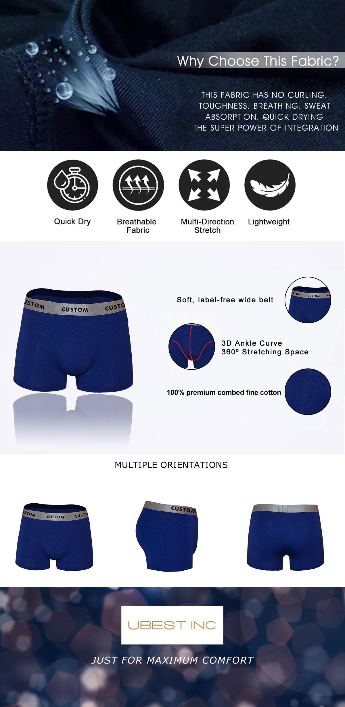 Men Underpants Shorts