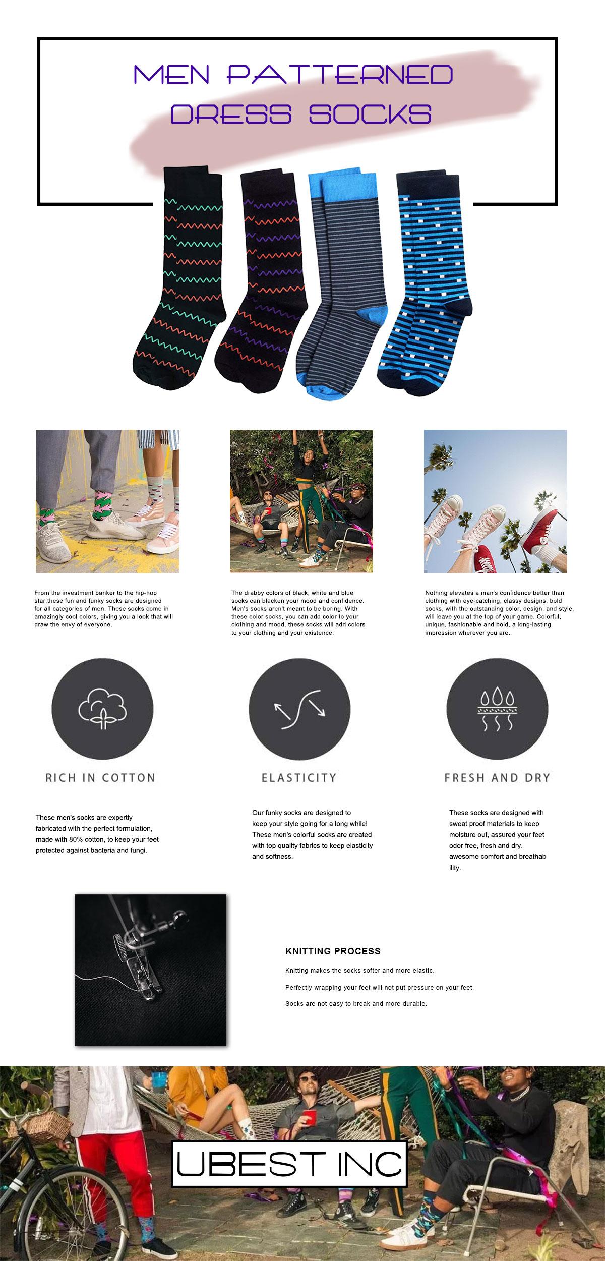 Luxury Men Socks