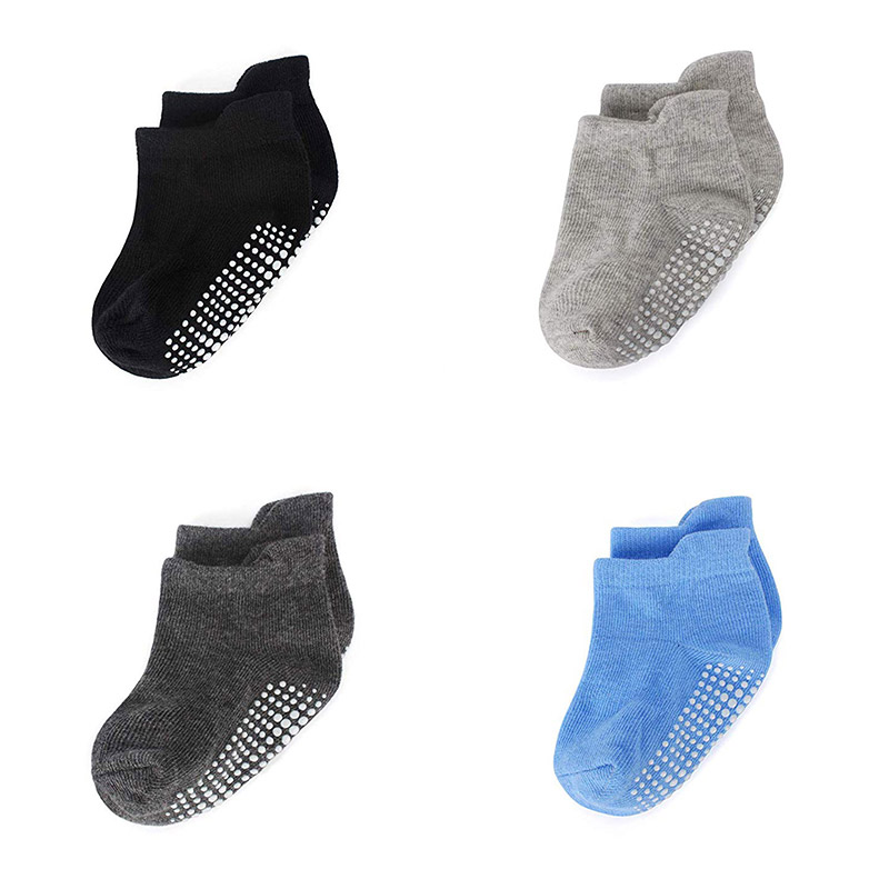 Anti Slip Kids Ankle Socks