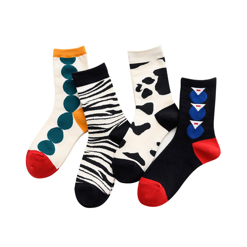Colorful Women Pattern Socks