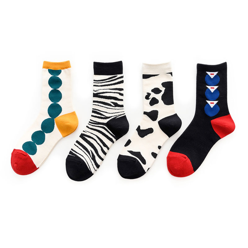 Colorful Women Pattern Socks