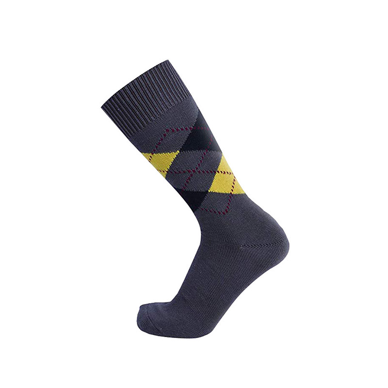 Mid-calf Men Dress Socks