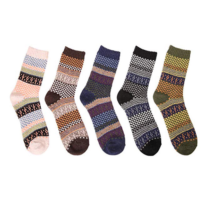 Men Thick Heavy Wool Socks